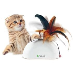 Gigwi Juguete Gato Pet Droid Feather Hider