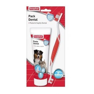 Beaphar Pack Dental Cepillo y Pasta