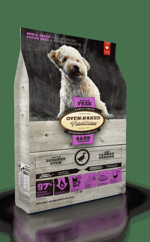 OBT Libre de Grano Pato Small Breeds / All Life Stages