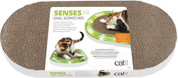 Catit Rascador Senses 2.0  Oval Scratcher