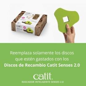 Discos de Recambio para Rascador Senses 2.0