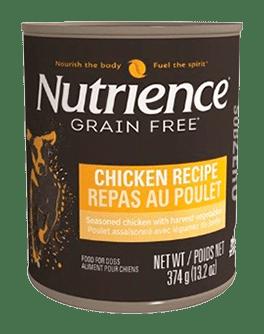 Nutrience Grain Free Húmedo Pollo