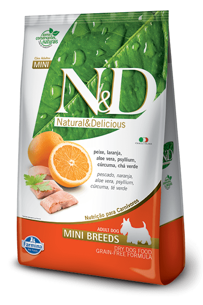 N&D Mini Adulto Salmón Naranja