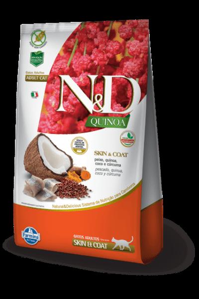 N&D Quinoa Skin & Coat