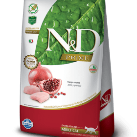 N&D Grain Free Gato Adulto Pollo y Granada