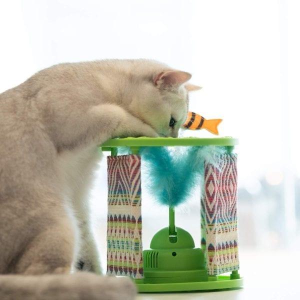 Gigwi-Juguete Interactivo Para Gatos/ Wonder Pod