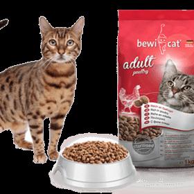 Bewi Cat Crocinis  Mix Pollo Pescado Pavo