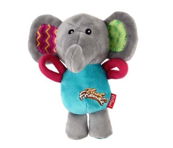 Juguete GiGwi Plush Friendz Elefante