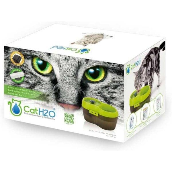 Bebedero Cat H2O Verde