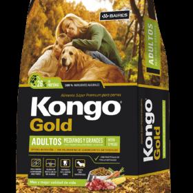 Kongo Gold Perro Adulto Raza Mediana y Grande