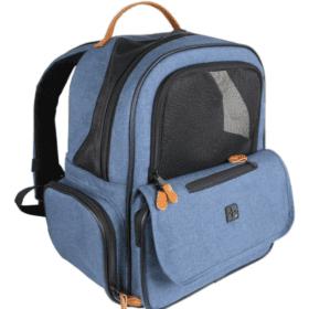 Mochila Azul Maxpet para Mascotas