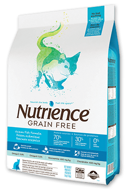 Nutrience Grain Free Cat Pescado