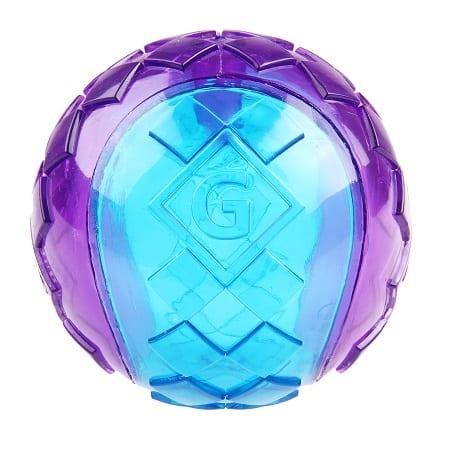 Pelota Gigwi Squeaker Azul Morado