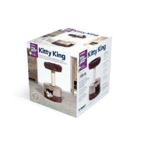 Rasguñador Prevue Kitty King Morado