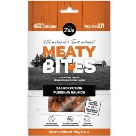 Zeus Meaty Bites Fusión de Salmón Snack Perro