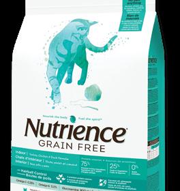 Nutrience Grain Free  Gato Indoor