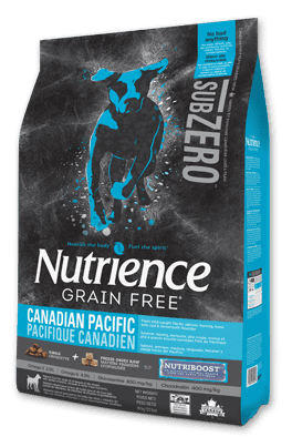 Nutrience Grain Free SubZero Dog Pescado