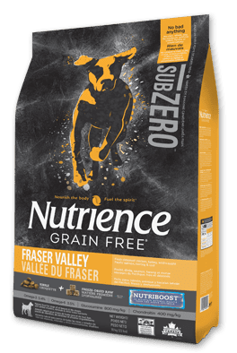 Nutrience Grain Free SubZero Dog Fraser Valley
