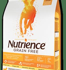 Nutrience Dog Grain Free Pavo Pollo Arenque