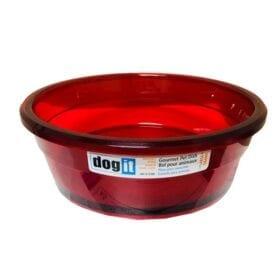 Dog It Plato Gourmet Rojo