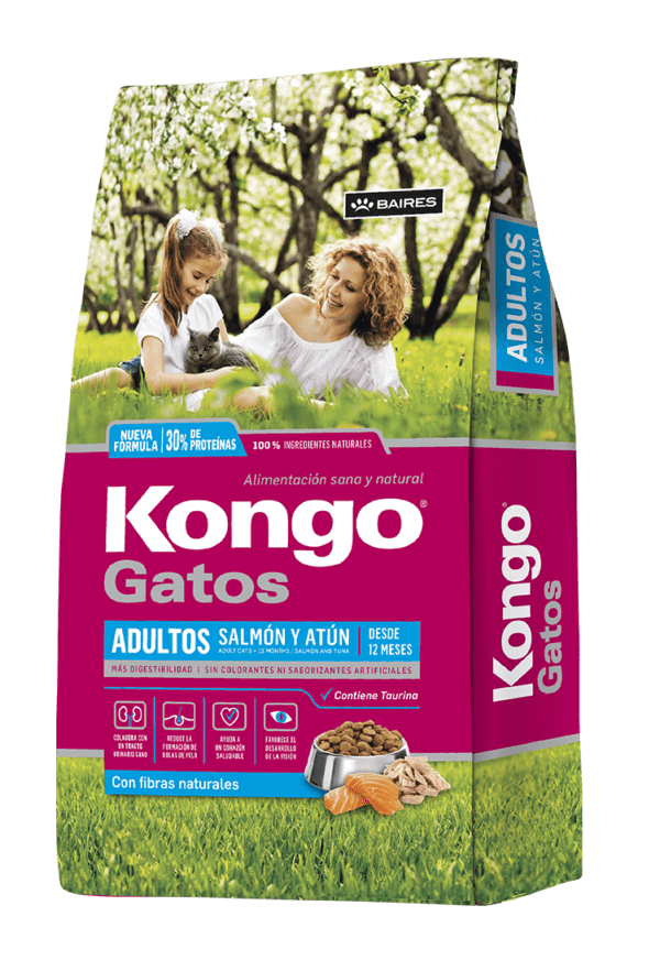 Kongo Gato adulto Salmón Atún